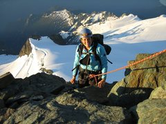 Rock Climbing Photo: heading up towards the summit