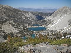 Rock Climbing Photo: Lake 1, 2 & 3