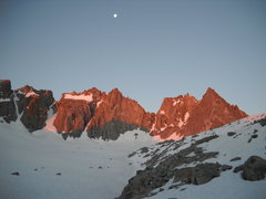 Rock Climbing Photo: view of the U-Notch and North Palisade