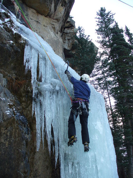 Rock Climbing Photo: Hidden Lake in thin conditions #2