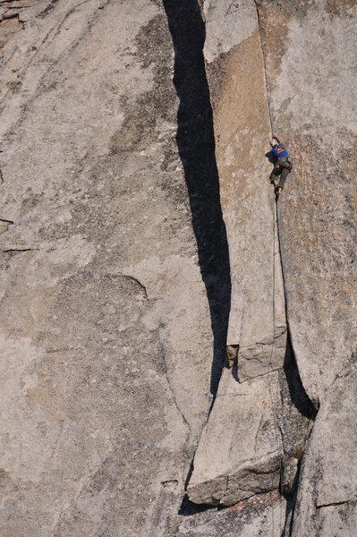 Rock Climbing Photo: A closer view.