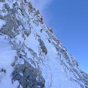 Rock Climbing Photo: Assiniboine North Ridge