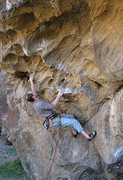 Rock Climbing Photo: Red Devil. Photo by Blitzo