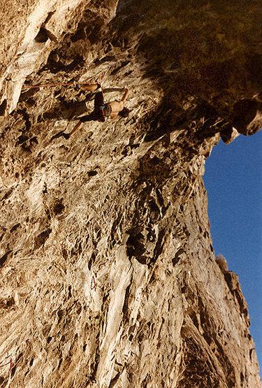 Rock Climbing Photo: Dano on Slayer, I think.