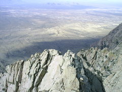 Rock Climbing Photo: The summit of Lost Peak as viewed from the summit ...