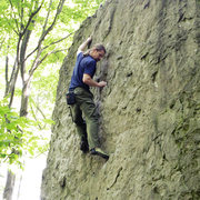Rock Climbing Photo: Bouldering at Niagara Glen