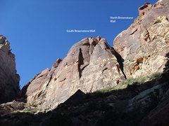 Rock Climbing Photo: Brownstone Walls