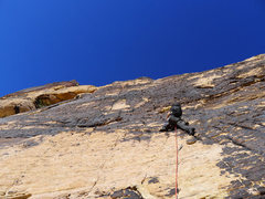Rock Climbing Photo: starting up P1 (shared with Armatron)