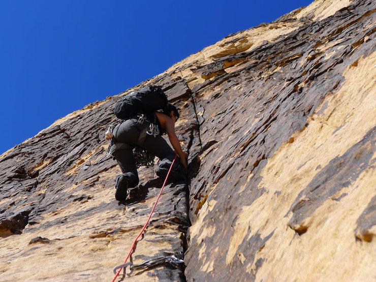 Rock Climbing Photo: good varnish