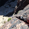Jascha at the mantle crux on P5