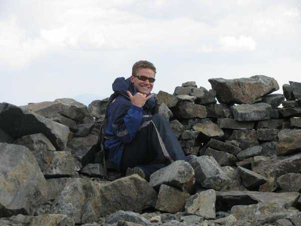 Rock Climbing Photo: Summit of White Mountain Peak