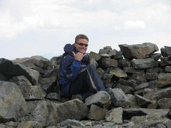 Rock Climbing Photo: Summit of White Mountain Peak