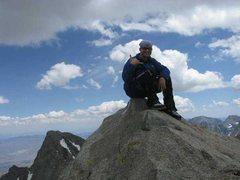 Rock Climbing Photo: Summit of North Pal