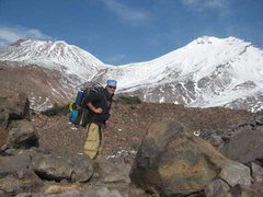 Rock Climbing Photo: Approaching BC in Hidden Valley for the West Face ...