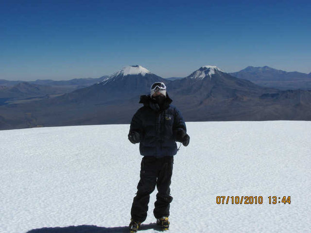 Summit of Nevado Sajama 21,522