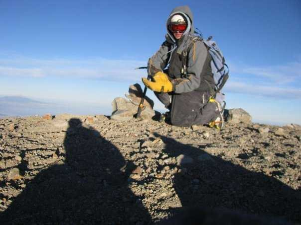 Summit of El Pico de Orizaba 18,700