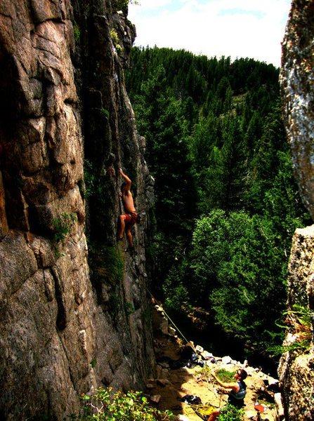 Rock Climbing Photo: Sport Park area, Boulder Canyon.