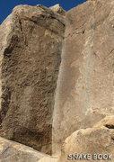 "Rock Climbing Photo: ""Snake Book"". Photo by Blitzo."