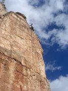 Rock Climbing Photo: Eric on Musso Route.  Photo by Bill Olszewski.