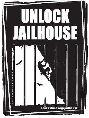 Rock Climbing Photo: Jailhouse graphic.