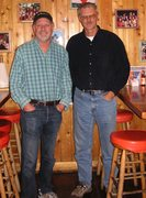 Rock Climbing Photo: Recent pic of me with Bob Dickerson (on right), Oc...