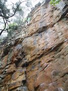 Rock Climbing Photo: private property - route photo