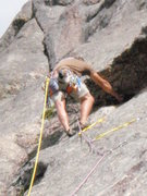 Rock Climbing Photo: Nazca-Knossos link up on Sheep Rock