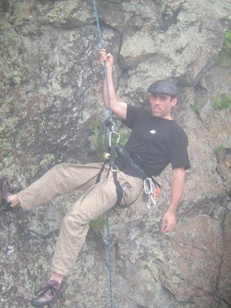 Rock Climbing Photo: cliff in greenfield