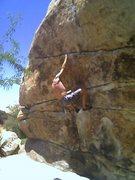 Rock Climbing Photo: gunsmoke traverse