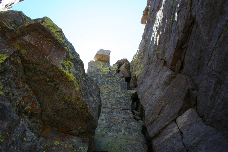 Rock Climbing Photo: hayden peak utah class 3 cracks