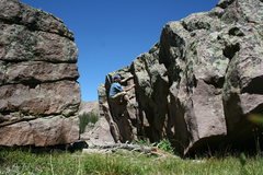 Rock Climbing Photo: hayden peak boulders ut