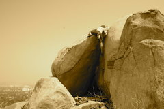 Rock Climbing Photo: hardy boys area mt rubideoux riverside ca
