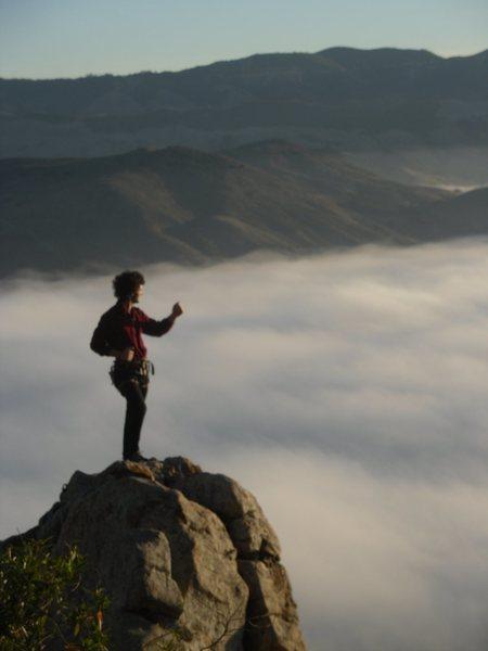 Rock Climbing Photo: me on top