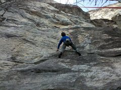 Rock Climbing Photo: Phil posing for a shot for top rope magazine...