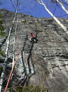 Rock Climbing Photo: Steeper than it appears...