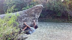 Rock Climbing Photo: Point Break near Glen Rose, TX