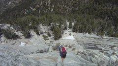 Rock Climbing Photo: 2nd pitch, I think, of Sahara Terror