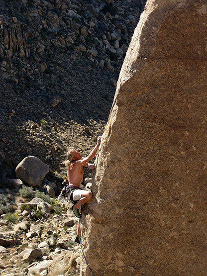 "Rock Climbing Photo: Erik on ""Is that a Munchkin in your Pocket&qu..."