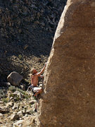"""Rock Climbing Photo: Erik on """"Is that a Munchkin in your Pocket&qu..."""
