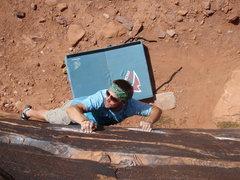 Rock Climbing Photo: hauss