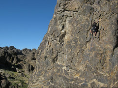 "Rock Climbing Photo: ""Route 66"". Photo by Blitzo."