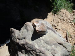 Rock Climbing Photo: Rock fall at HCR.
