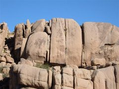 Rock Climbing Photo: Slots A Fun is located on the higher tier directly...