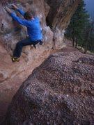 Rock Climbing Photo: Monkey business.