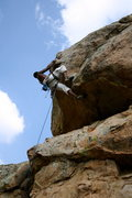 Rock Climbing Photo: Long Arm of the Law.