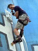 Rock Climbing Photo: dry tooling