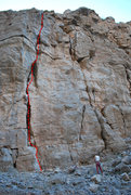 Rock Climbing Photo: Here is a topo of the route.