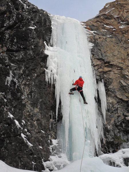 Rock Climbing Photo: Around the Corner.
