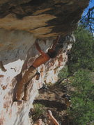 Rock Climbing Photo: Dean Hoffman getting another taste of his Breakfas...