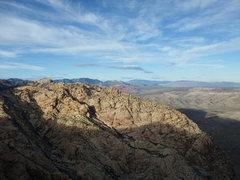 Rock Climbing Photo: looking toward the Calico Hills